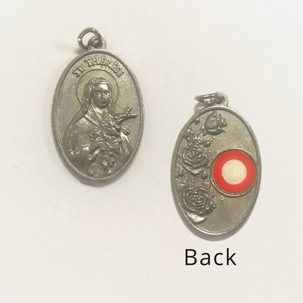 St. Therese Relic Medal