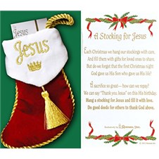 thankyoujesusstocking
